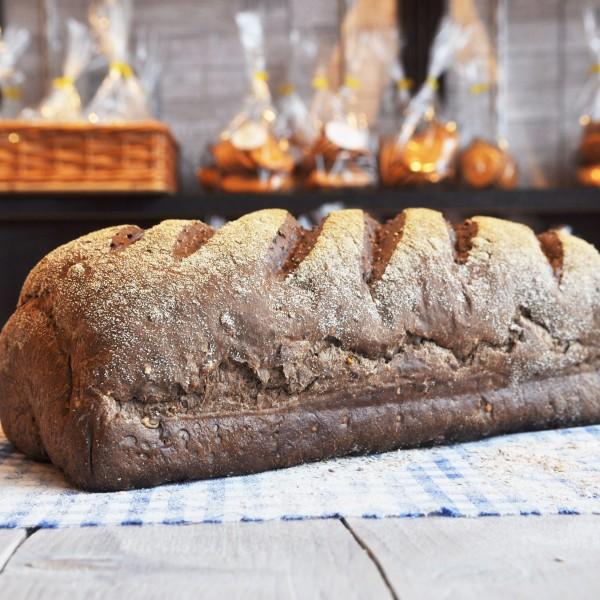 donker meergranenbrood vloer gries, online bestellen bij Bakkerij Kaptein, Den Ham, Overijssel